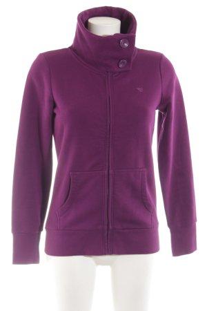 Esprit Veste sweat violet style athlétique