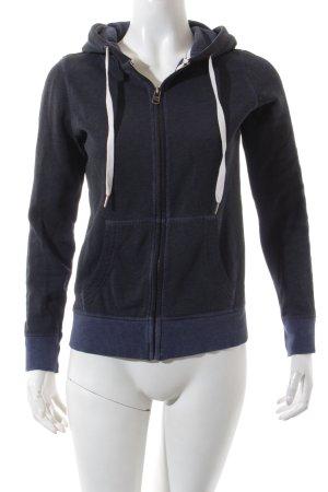 Esprit Sweatjacke dunkelblau-weiß sportlicher Stil