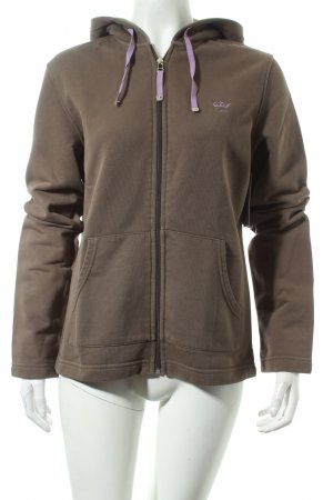 Esprit Sweatjacke khaki Casual-Look
