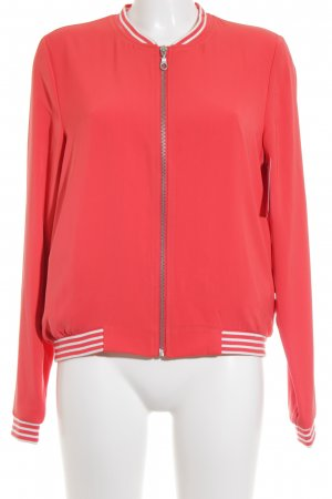 Esprit Sweatjacke neonorange Casual-Look