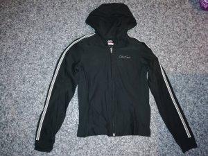 Esprit Sweatjacke schwarz/weiß 38
