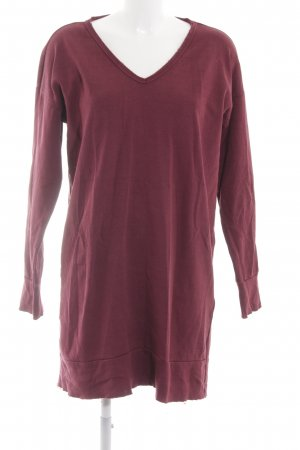 Esprit Sweat Dress red simple style