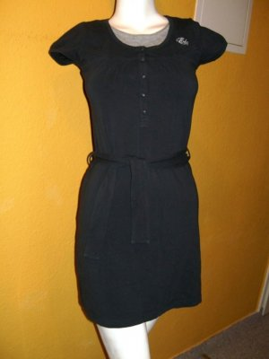 Esprit, Sweatkleid, Blau Grau, Gr. M 38 kurzarm mit Gürtel