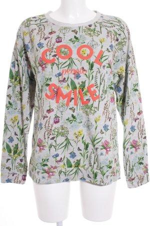 Esprit Sweatshirt Blumenmuster Casual-Look