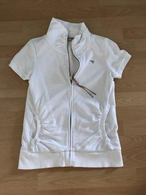 Esprit Sweatshirt Jacke mit kurzen Ärmeln