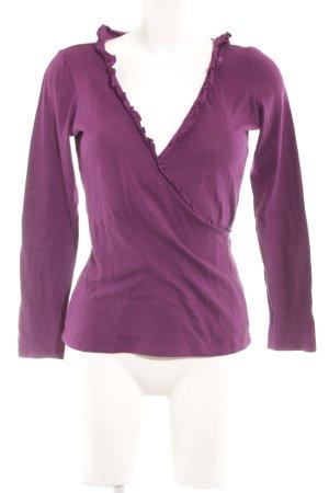 Esprit Sweatshirt lila Casual-Look
