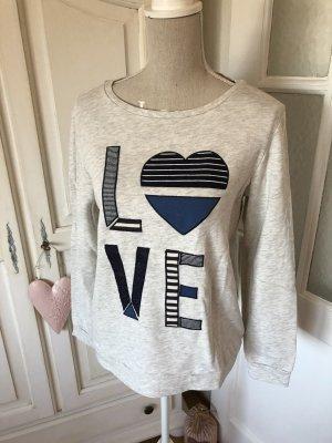 Esprit Sweatshirt Love Schriftzug
