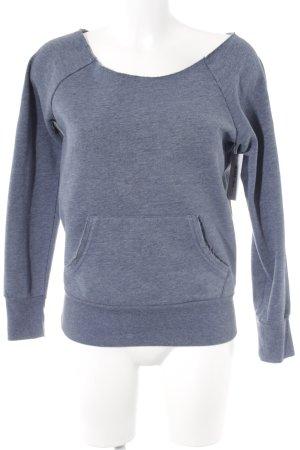 Esprit Sweatshirt stahlblau meliert Casual-Look