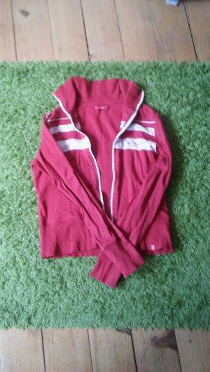 Esprit Veste chemise rouge