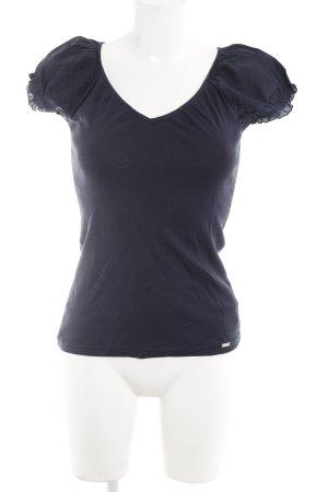 Esprit T-Shirt dunkelblau Casual-Look