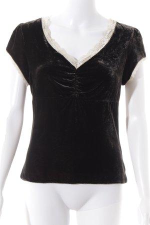 Esprit T-Shirt dunkelbraun-creme Elegant