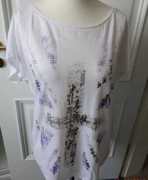Esprit Camiseta blanco Algodón
