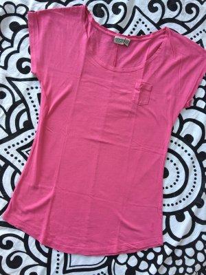 Esprit T-Shirt Gr. S pink Shirt kurzarm rundhals