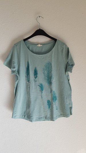 Esprit T-Shirt gr XL Federn