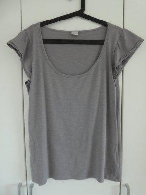 Esprit  – T-Shirt, grau - Gebraucht, fast wie neu