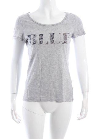 Esprit T-Shirt grau meliert Casual-Look