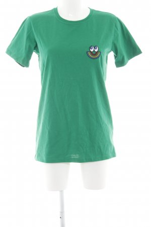 Esprit Camiseta verde-azul look casual