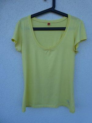 Esprit – T-Shirt, hellgelb – Gebraucht, fast wie neu
