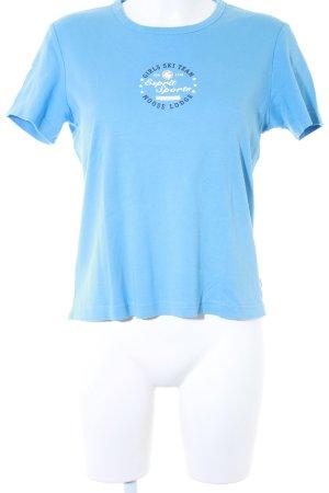 Esprit T-Shirt himmelblau Casual-Look