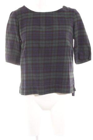 Esprit T-Shirt Karomuster Casual-Look