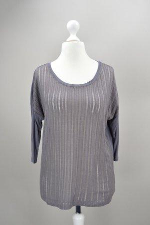 Esprit T-Shirt locker geschnitten grau Größe XS