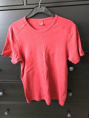 Esprit T-Shirt M 38 rot rundhals