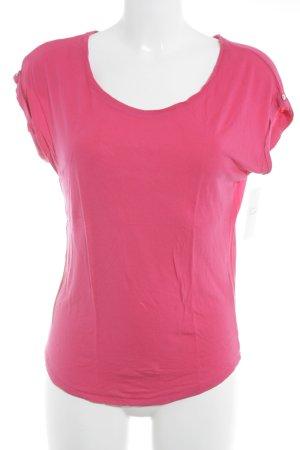Esprit T-Shirt magenta schlichter Stil