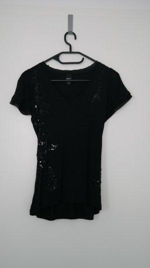 Esprit T-Shirt Schwarz Gr. XS