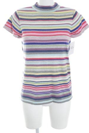 Esprit T-Shirt Streifenmuster Street-Fashion-Look