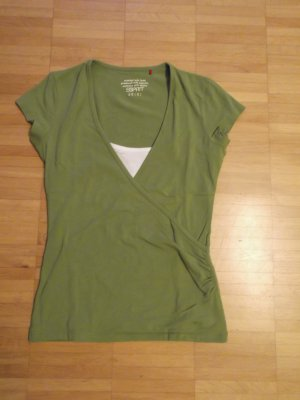 ESPRIT T-Shirt Top 2in1 Layer-Look Gr. XS Top Zustand