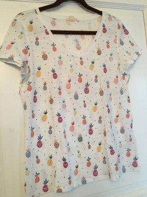 Esprit T-Shirt weiß bunt Gr. S
