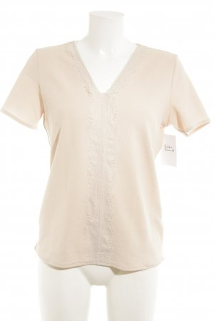 Esprit T-Shirt weiß-rosé Casual-Look