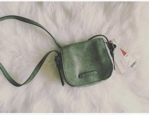 Esprit Mini Bag green grey-khaki polyester