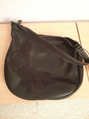 Esprit Tasche schwarz mit aufdruck