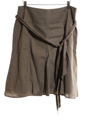 Esprit Jupe corolle brun style décontracté