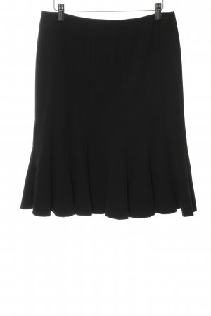 Esprit Cirkelrok zwart zakelijke stijl