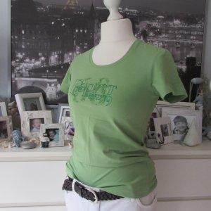 ESPRIT * Tolles Sport Shirt * grün Glitzerlogo * 42/44 TOP