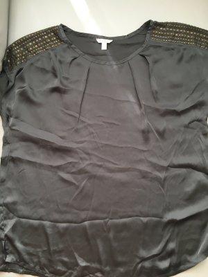 ESPRIT Top in grau glänzend, Gr. 44 - NEU und ungetragen