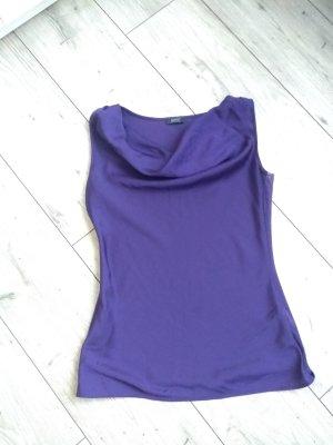 esprit collection Cowl-Neck Top lilac