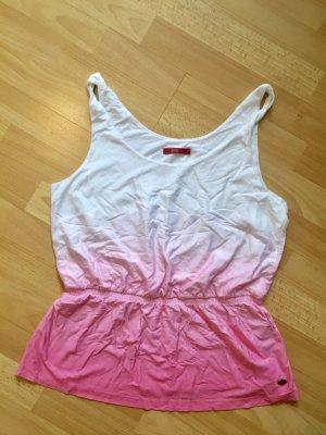 Esprit Top weiß/pink