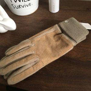 Esprit Gloves cream-light brown