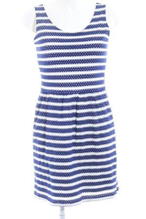 Esprit Trägerkleid blau-weiß Streifenmuster Casual-Look