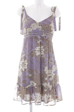 Esprit Trägerkleid florales Muster Casual-Look