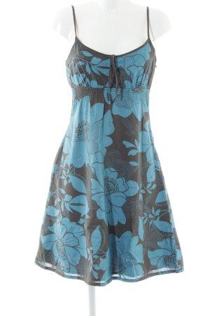 Esprit Overgooier grijs-bruin-cadet blauw bloemenprint elegant