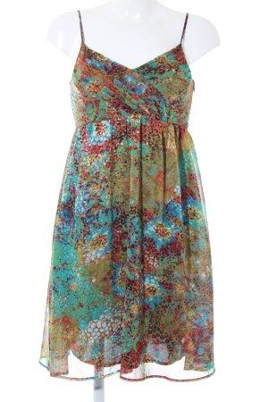 Esprit Trägerkleid mehrfarbig extravaganter Stil