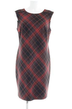 Esprit Overgooier rood-zwart glencheck patroon casual uitstraling
