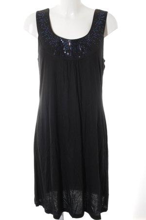 Esprit Trägerkleid schwarz-blau Elegant