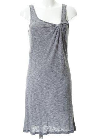 Esprit Trägerkleid schwarz-hellgrau Streifenmuster Beach-Look