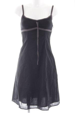 Esprit Trägerkleid schwarz schlichter Stil