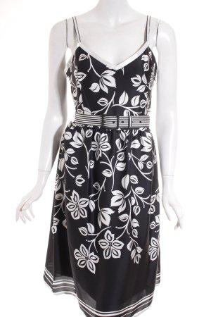 Esprit Robe à bretelles noir-blanc style décontracté